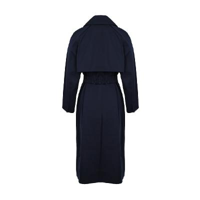 modern mood trench coat navy